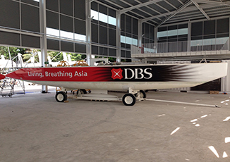 BoxFresh Service - Vehicle Wrap - Boat