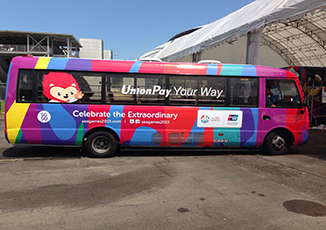 BoxFresh Service - Vehicle Wrap - Bus