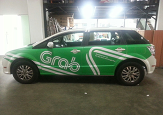 BoxFresh Service - Vehicle Wrap - Car