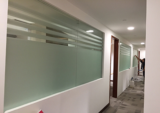 BoxFresh Service - Graphics Installation - Frosted Film