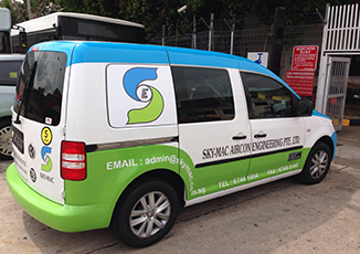 BoxFresh Service - Vehicle Wrap - Panel Van