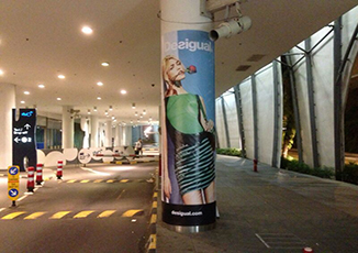 BoxFresh Service - Graphics Installation - Pillar