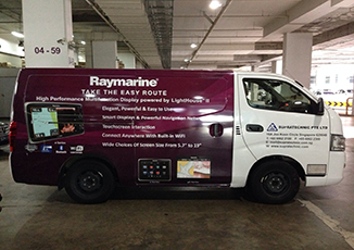 BoxFresh Service - Vehicle Wrap - Van