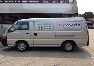 BoxFresh Service - Spray Paintings - Van